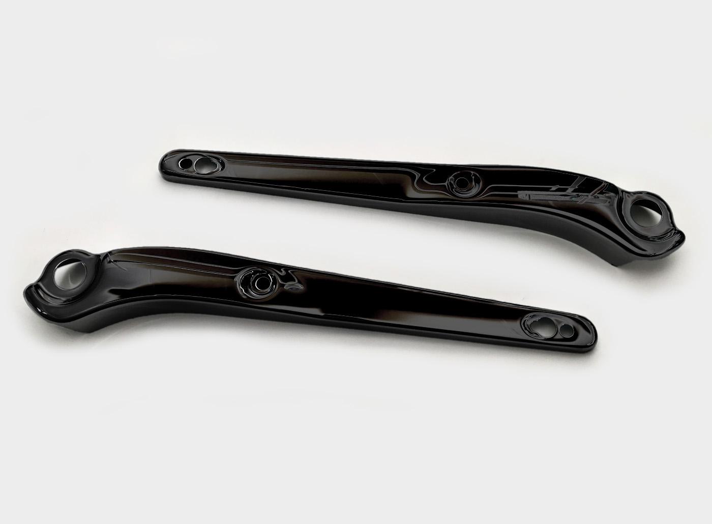 Fenderstrutscover schwarz beschichtet Fat Bob® FXDF/SE CVO ab 2008 pr.